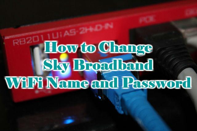 Sky-broadband-password-change